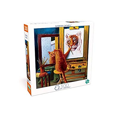 Buffalo Games - Art of Play - Norman Catwell - 300 Large Piece Jigsaw Puzzle: Toys & Games