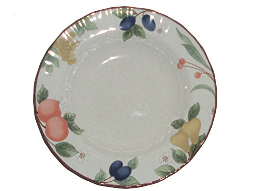 Mikasa Country Classics DC014 Fruit Panorama 9 Inch Rimmed Soup or Pasta Bowl