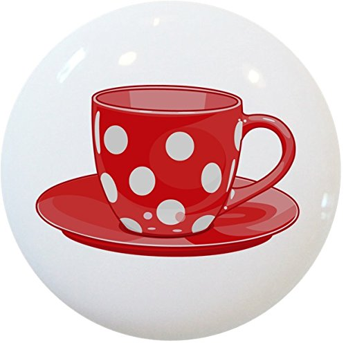 coffee cup knobs for cabinets - 2