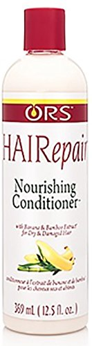 (ORS HAIRepair Banana and Bamboo Nourishing Conditioner for Dry and Brittle Hair 12.5 Ounce )