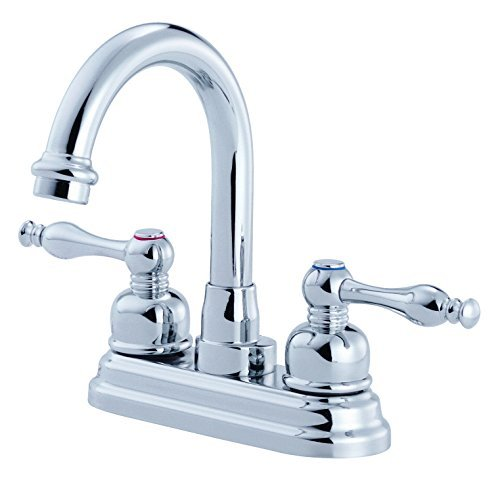 Danze D301355 Sheridan Two Handle Centerset High-Rise Lavatory Faucet, Chrome by ()