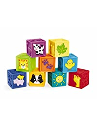Earlyears Squeak 'n Stack Blocks Baby Toy BOBEBE Online Baby Store From New York to Miami and Los Angeles