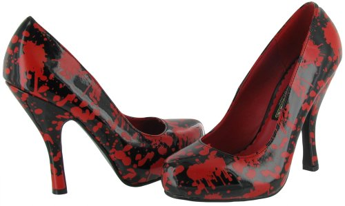 Pleaser Black B Black Bloody by Pump Red Women's Funtasma 12 5w7nfA8nqx