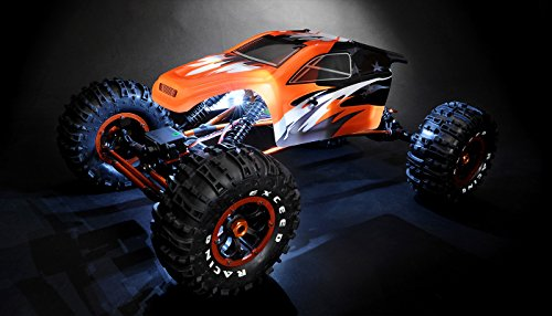 1/8Th Mad Torque Rock Crawler Ready to Run (Orange) (Truck Mad)
