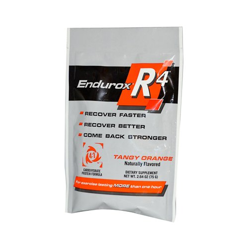 PacificHealth Labs Endurox R4 Performance Recovery Drink Tangy Orange -- 2.64 oz