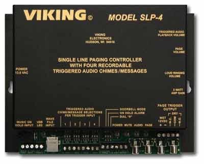 Viking Electronics SLP-4 Single Line Paging Controller
