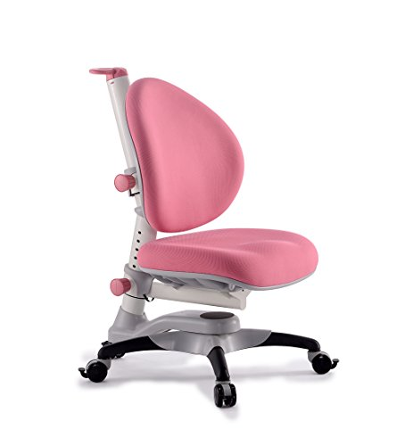 ApexDesk ALSC2533-PK Little Soleil Children's Height Adjustable Chair, Pink by ApexDesk