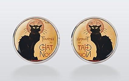 Amazon.com: Gato Negro Gemelos de gemelos, Gemelos de Chat ...
