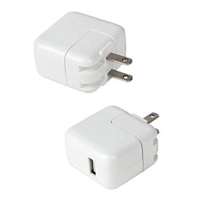 2cf839e35628f4 Image Unavailable. Image not available for. Color: ❤️12W USB Power Adapter  Plug Universal Smartphone Charger Rapid 2.4A Output for Apple iPad