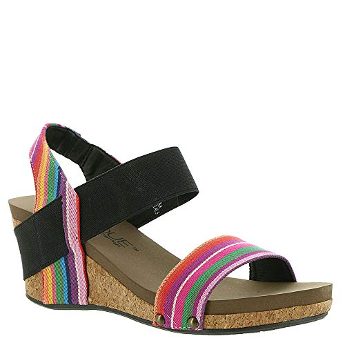 - Corkys Rum Women's Sandal,Bright Multi,9