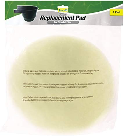 Tetra Pond Replacement Pad For Waterfall Filters, 1 Coarse Pad (19018)