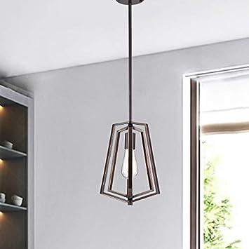 Pendant Lighting Bronze Chandeliers 1 Light Ceiling Light Fixture