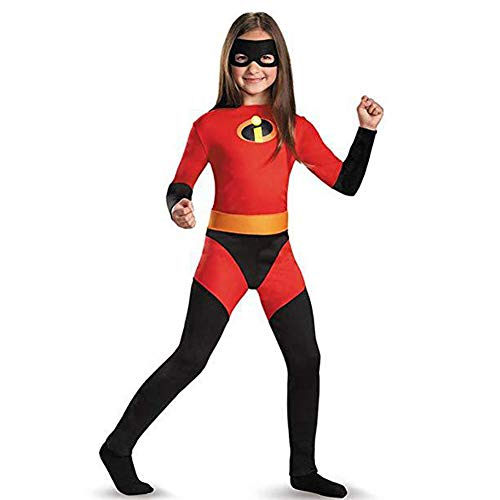 Mrs Incredible Costume,Big Girls' Violet Dash Incredible Child -