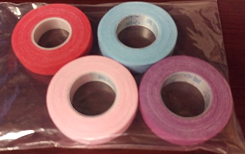 Four Rolls of Color Adhesive Tape for Guzheng and Pipa Finger Picks ()
