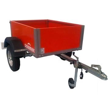 Remorque Dormak pour quad ou 4x4 - Charge: 225 kg: Amazon.fr: Jardin