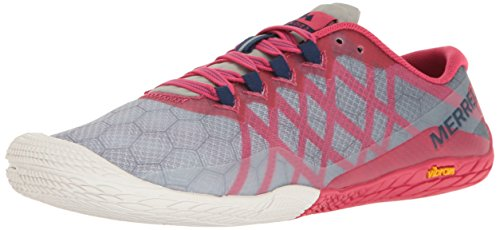(Merrell Women's Vapor Glove 3 Trail Runner Azalea 7.5 M US)