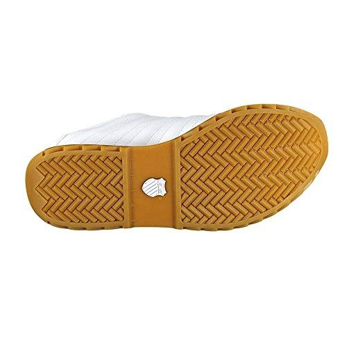 Branco S Iii 46 Novo Ue K Verstad Couro swiss Sapatos Homens De Sapatilhas wInB8q6