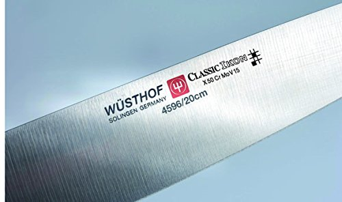 Wusthof Classic Ikon 8-Inch Cook's Knife, Black by Wüsthof (Image #6)