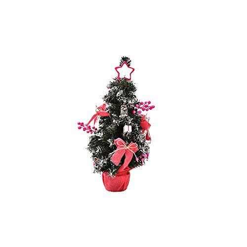 Mysky Xmas Gift Artificial Tabletop Mini Christmas Tree Decorations Festival Miniature Tree 30cm