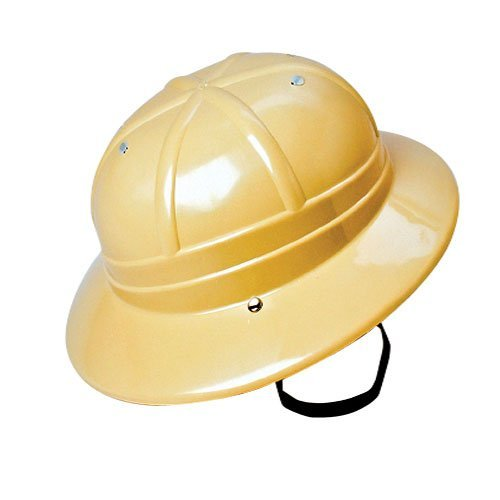 Children's Hard Plastic Safari Pith Helmet