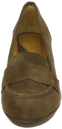 Lottusse S7265 Damen Casual Slipper Braun (Marmotta)