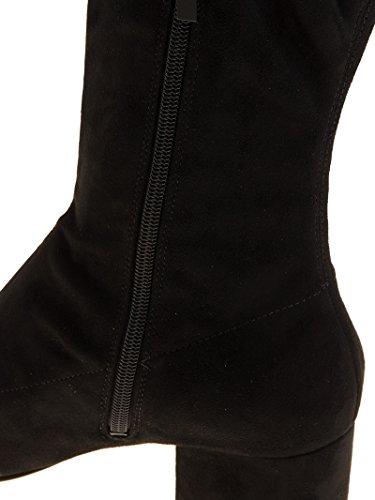 Tissu Noir Kendall Bottes Femme Kylie Kksophia03 IOvxRqSv