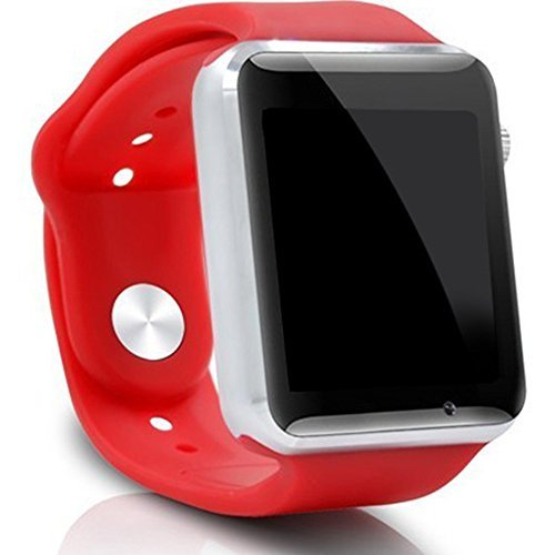 A1 Smart Watch For Iphone Android Cell phone 1.54 inch SIM Card_red - 2