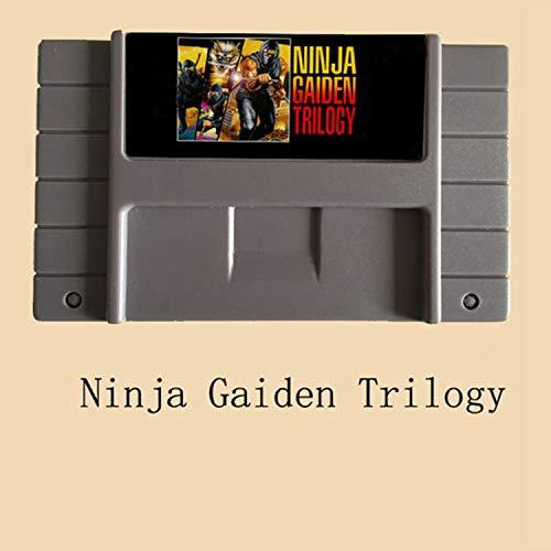 BrotheWiz Ninja Gaiden Trilogy 16 Bit Video Game Card NTSC