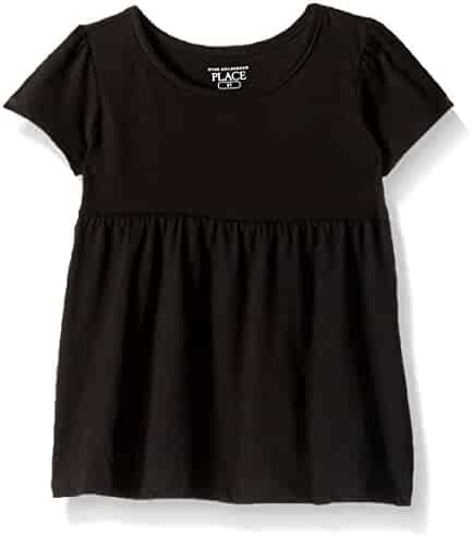 The Children's Place Baby Girls' Short Sleeve Basic Tee
