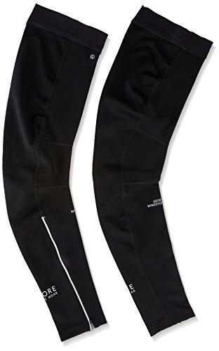 Gore Bike WEAR Unisex Leg Warmers, Gore Windstopper, Universal Leg Warmers, Size: M, Black, ()