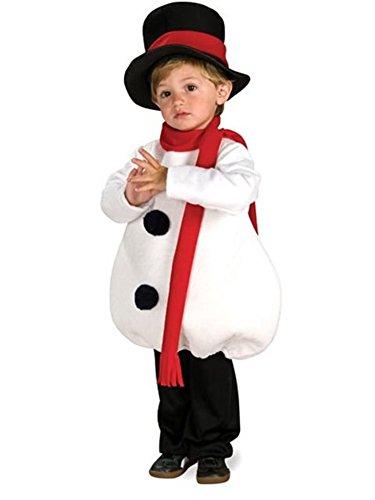 Rubies Baby Snowman Children's Costume, Toddler ()