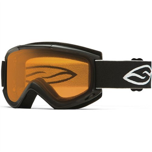 Smith Optics Adult Cascade Classic Snow Goggles White Frame/Gold Lite by Smith Optics