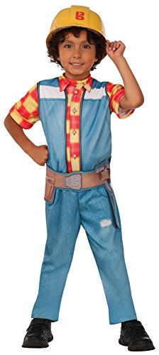 Bob The Builder Costume Toddler - Rubie's Costume Bob the Builder Value Costume, Small