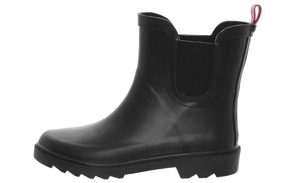 Capelli New York Boys Matte Solid Rubber Rain Boot RBT-2028K