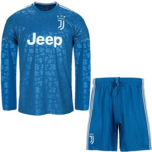 Juventus Fc 3rd Kit Blue Color 19 20 Dry Fit 100 Polyester Full Sleeve Jersey With Short For Men Amazon In Sports Fitness Outdoors