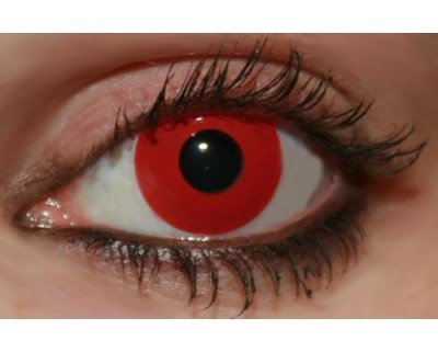 Crazy Lens Lenti a Contatto Rosse GIORNALIERE - Color VUE  Amazon.it ... 1f2061e41cdf