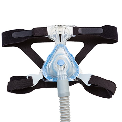 CPAP Headgear-Replaces Respironics and ResMed Straps – Ultra Comfortable 4 Point Connection Headgear Straps for all types of Masks – Compatible with Most Apnea Masks