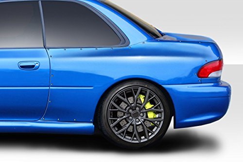Duraflex ED-KDO-673 22B Look Rear Fenders - 2 Piece Body Kit - Fits Subaru Impreza 1993-2001