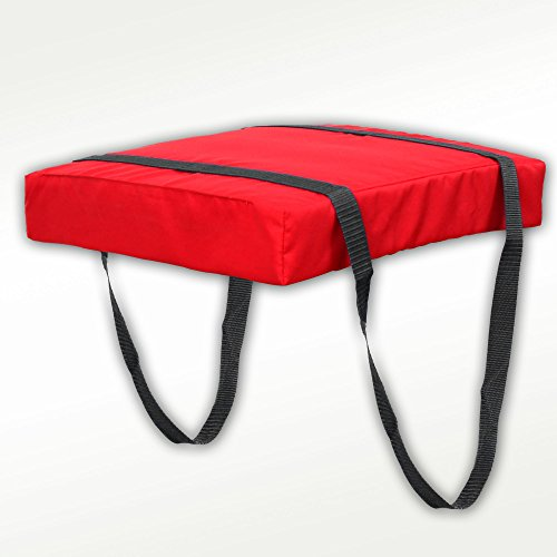 Bradley Type IV Boat Cushion USCG Approved Throwable Flotation Device - Red (Type Iv Foam)