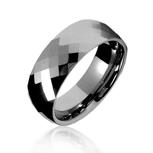Bling Jewelry Couples Multi Faceted Prism Cut