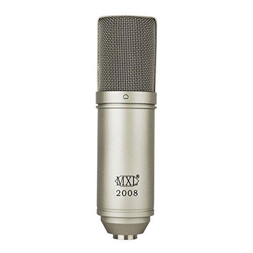 MXL 2008 Cardioid Condenser Microphone with Shockmount and Carrying Case