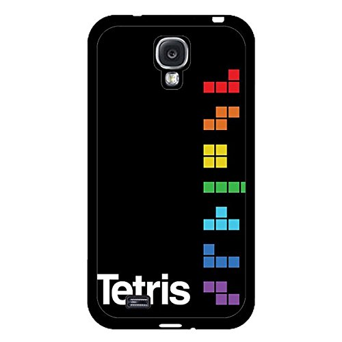 Samsung Galaxy S4 I9500 Phone Case Tetris Classic Game Block Black Protective Cover
