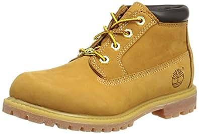 Timberland Women's Nellie Waterproof Chukka Boots, Womens Shoes, Yellow (Wheat Nubuck), 5 US