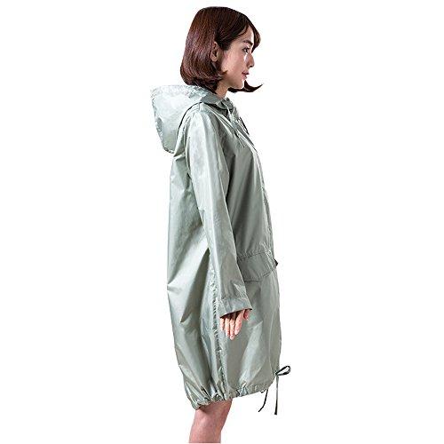 Abbigliamento L p Dimensioni k Solare Impermeabile All'aperto Colore Green Adulti C Pieghevole Blu Verde Poncho Xl Protezione Leggero Moda Taglia Viaggio Per Da Bianco l ASxqp6g