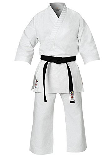The Seishin Gi Premium Womans Karate Uniform (Woman 170 cm/ 5ft 7in, White) (Karate Gi Women)