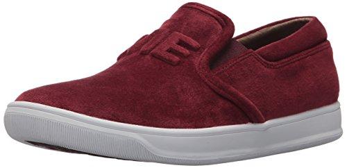 Marchio Nason Los Angeles Womens Jett Sneaker Burgundy