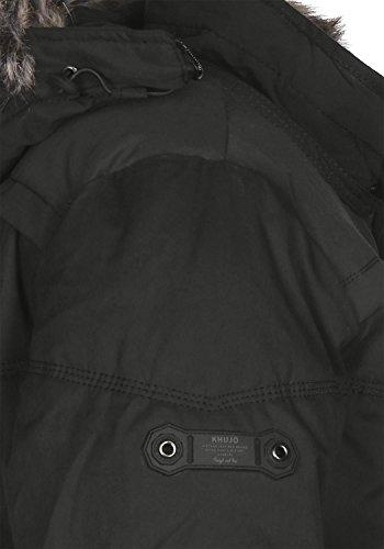 Khujo Men's Stain Men's Jacket Khujo Black rnrHT86qvW