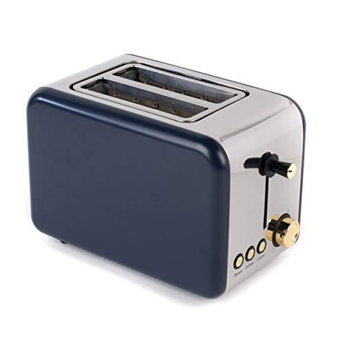 Salter EK2652NG 2-Slice Toaster, 850 W, Navy/Gold