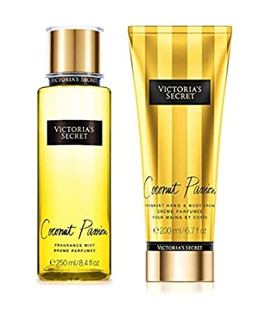 17909128c5 Image Unavailable. Image not available for. Color  Victorias Secret Coconut  Passion Fragrance Body Cream   Body Mist Set