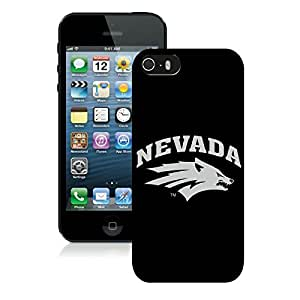 Apple iPhone 5s Protective Skin NCAA-MOUNTAIN WEST Nevada Wolf Pack AA 5 For Apple Iphone 5 5S Cover Case
